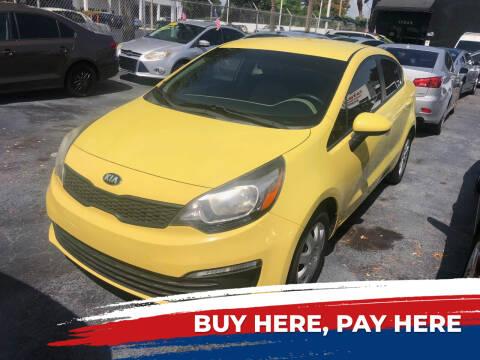 2016 Kia Rio for sale at Nationwide Auto Finance in Miami FL