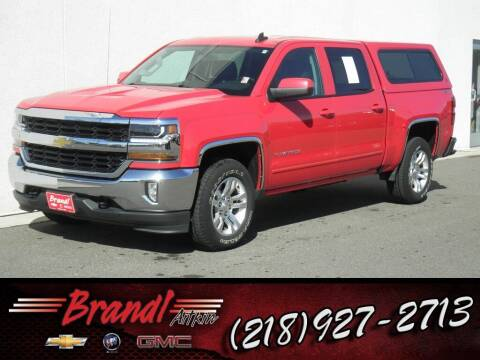 2016 Chevrolet Silverado 1500 for sale at Brandl GM in Aitkin MN