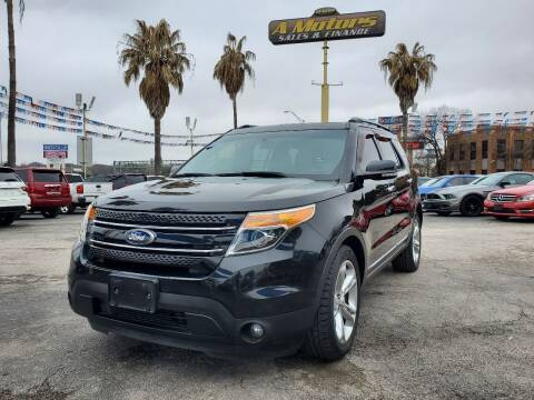 2013 Ford Explorer for sale at A MOTORS SALES AND FINANCE in San Antonio TX