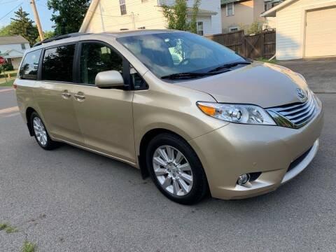 2012 Toyota Sienna for sale at Via Roma Auto Sales in Columbus OH
