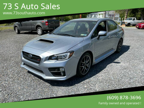 2015 Subaru WRX for sale at 73 S Auto Sales in Hammonton NJ