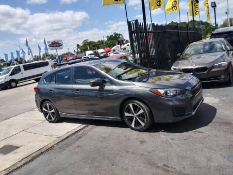 2018 Subaru Impreza for sale at AUTO ALLIANCE LLC in Miami FL