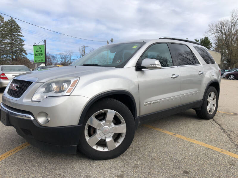 2008 GMC Acadia for sale at J's Auto Exchange in Derry NH