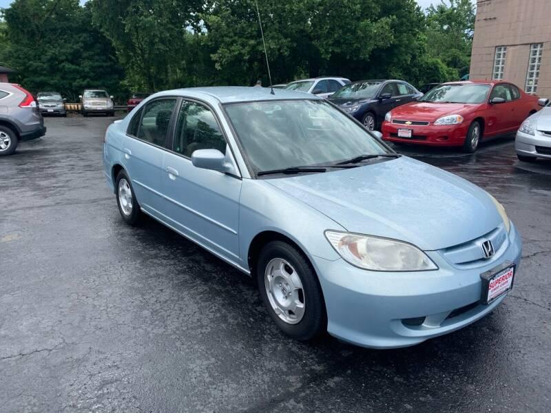 2004 Honda Civic Hybrid 4dr Sedan - Cuyahoga Falls OH