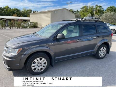 2018 Dodge Journey for sale at Infiniti Stuart in Stuart FL