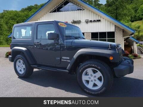 2018 Jeep Wrangler JK for sale at Stephens Auto Center of Beckley in Beckley WV