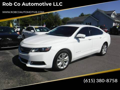 2016 Chevrolet Impala for sale at Rob Co Automotive LLC in Springfield TN