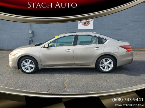 2014 Nissan Altima for sale at Stach Auto in Janesville WI