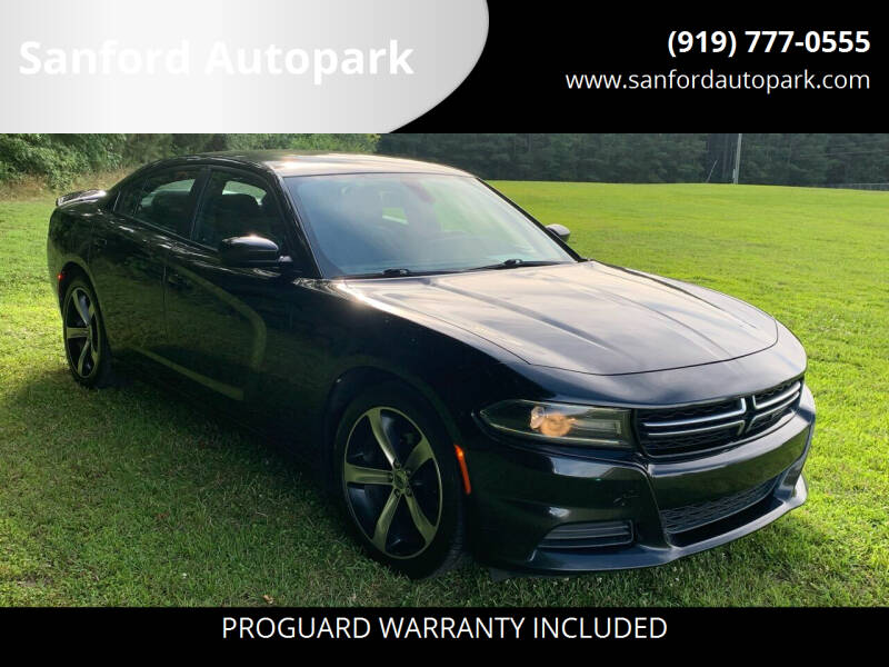 2017 Dodge Charger for sale at Sanford Autopark in Sanford NC