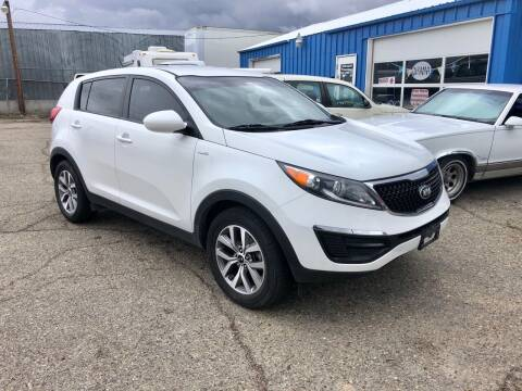 2015 Kia Sportage for sale at AFFORDABLY PRICED CARS LLC in Mountain Home ID