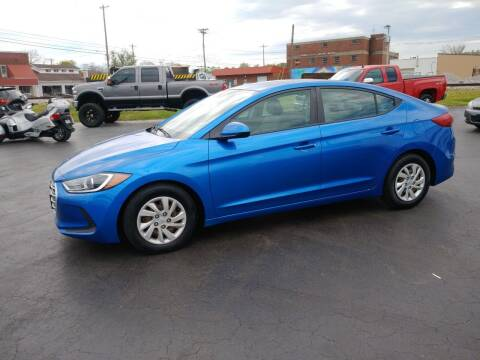2017 Hyundai Elantra for sale at Big Boys Auto Sales in Russellville KY