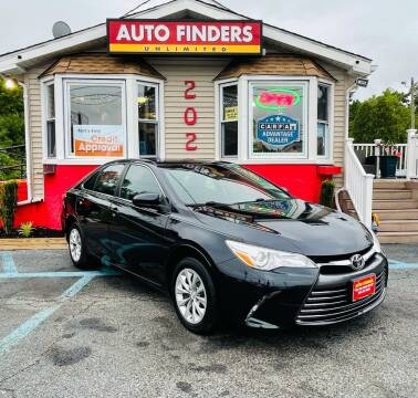 2015 Toyota Camry for sale at Auto Finders Unlimited LLC in Vineland NJ