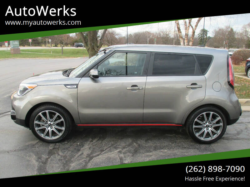 2017 Kia Soul for sale at AutoWerks in Sturtevant WI