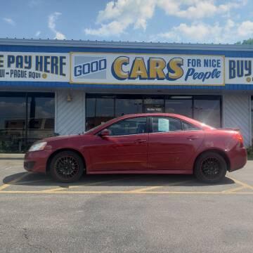 2010 Pontiac G6 for sale at Good Cars 4 Nice People in Omaha NE