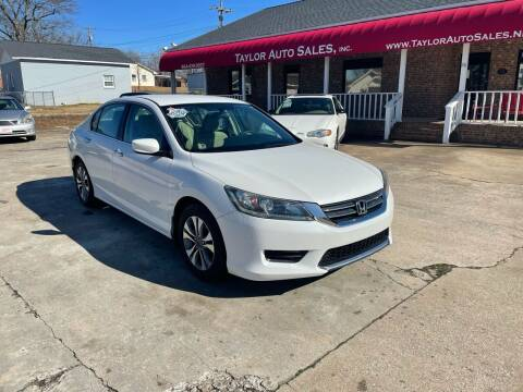 2013 Honda Accord for sale at Taylor Auto Sales Inc in Lyman SC