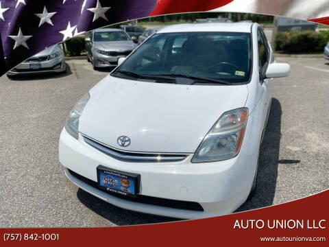 2009 Toyota Prius for sale at Auto Union LLC in Virginia Beach VA