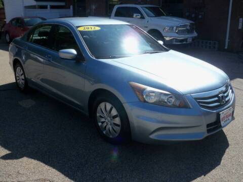 2012 Honda Accord for sale at Charlies Auto Village in Pelham NH