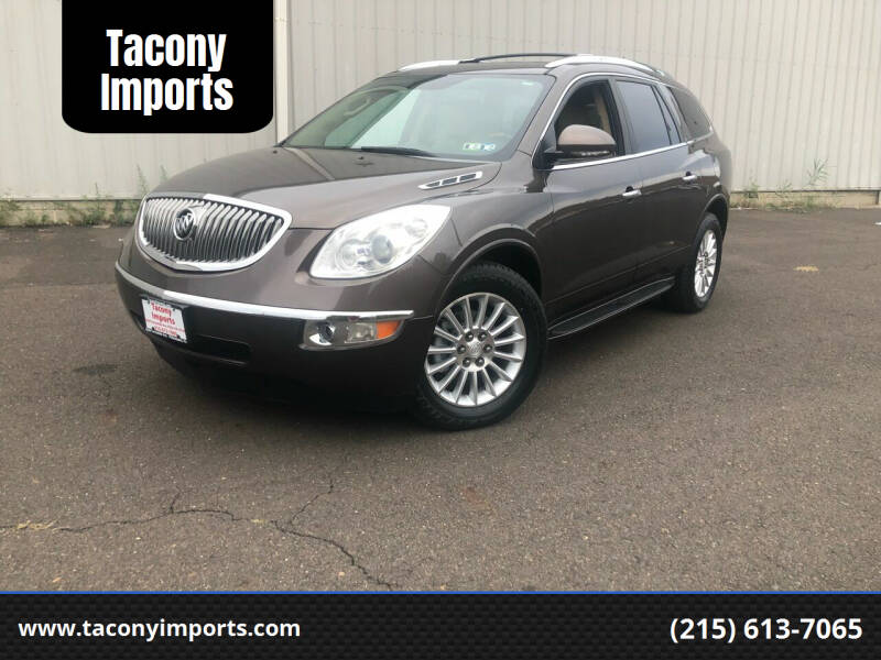 2012 Buick Enclave for sale at Tacony Imports in Philadelphia PA