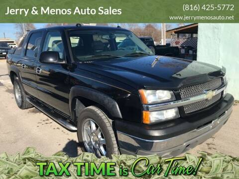 2005 Chevrolet Avalanche for sale at Jerry & Menos Auto Sales in Belton MO