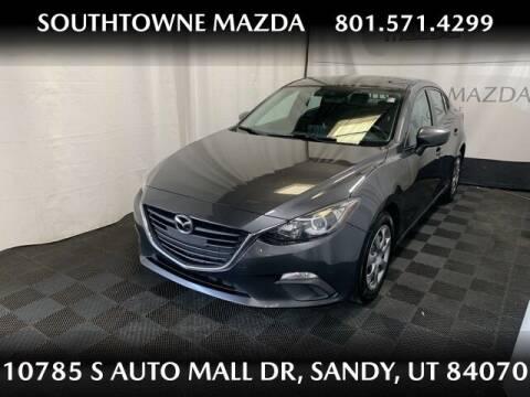 2016 Mazda MAZDA3 for sale at Southtowne Mazda of Sandy in Sandy UT