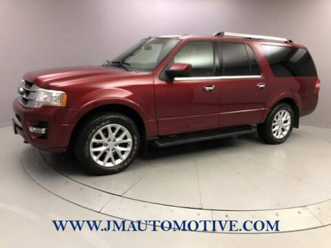 2015 Ford Expedition EL for sale at J & M Automotive in Naugatuck CT