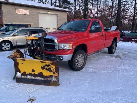 2003 Dodge Ram Pickup 2500 for sale at Official Auto Sales in Plaistow NH