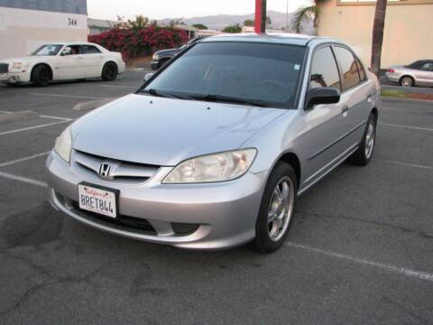 2004 Honda Civic for sale at M&N Auto Service & Sales in El Cajon CA