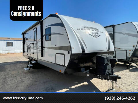 2018 Highland Open Range for sale at FREE 2 U Consignments in Yuma AZ