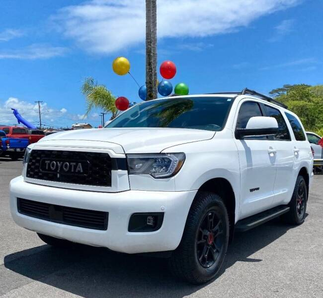 2020 Toyota Sequoia for sale at PONO'S USED CARS in Hilo HI