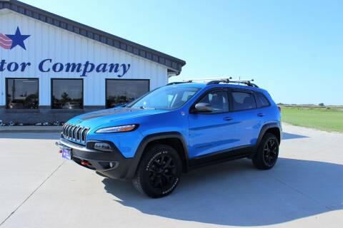2018 Jeep Cherokee for sale at Cresco Motor Company in Cresco IA