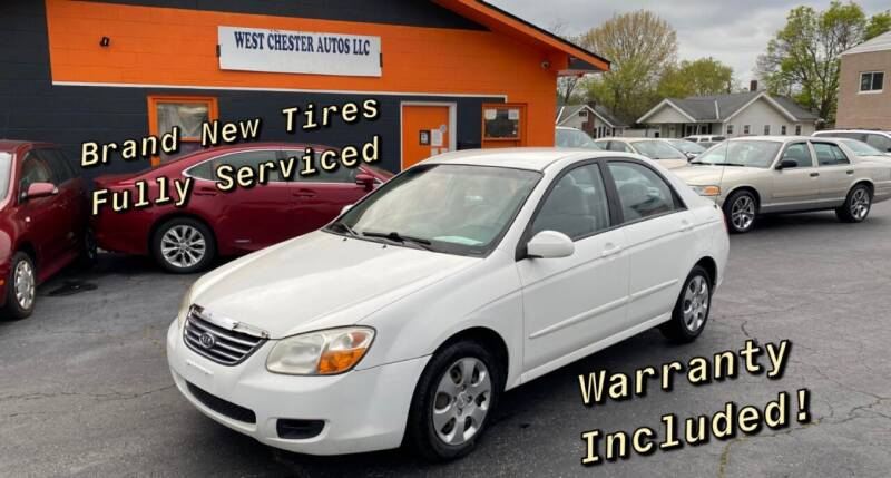 2008 Kia Spectra for sale at West Chester Autos in Hamilton OH