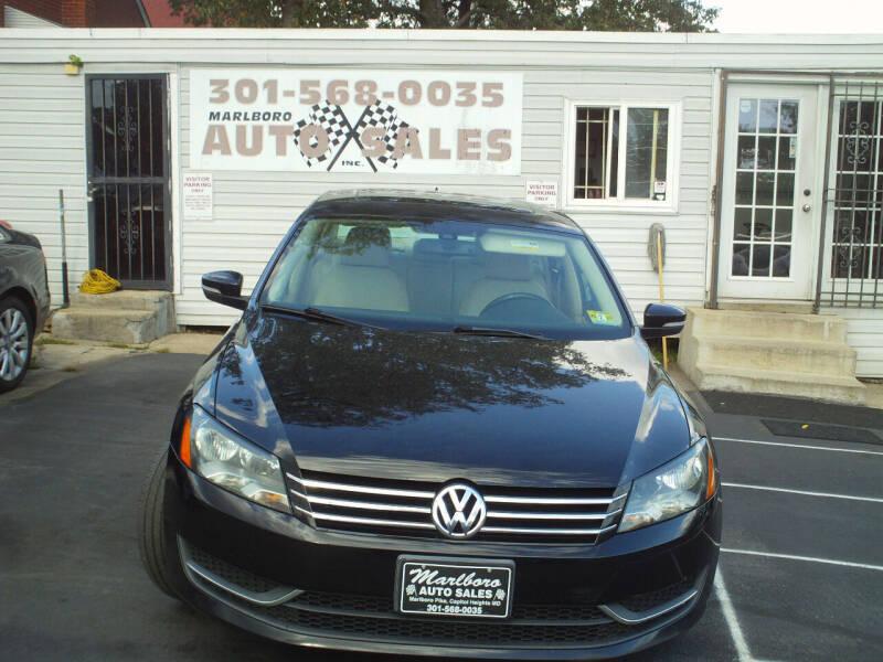 2014 Volkswagen Passat for sale at Marlboro Auto Sales in Capitol Heights MD