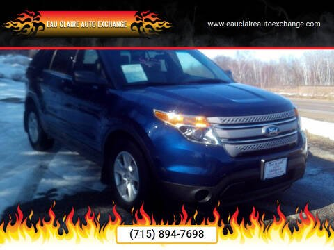 2012 Ford Explorer for sale at Eau Claire Auto Exchange in Elk Mound WI