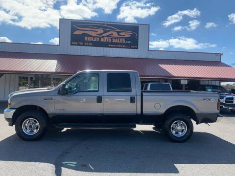 2003 Ford F-250 Super Duty for sale at Ridley Auto Sales, Inc. in White Pine TN