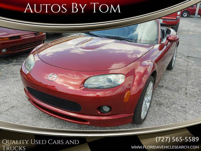 2007 Mazda MX-5 Miata for sale at Autos by Tom in Largo FL