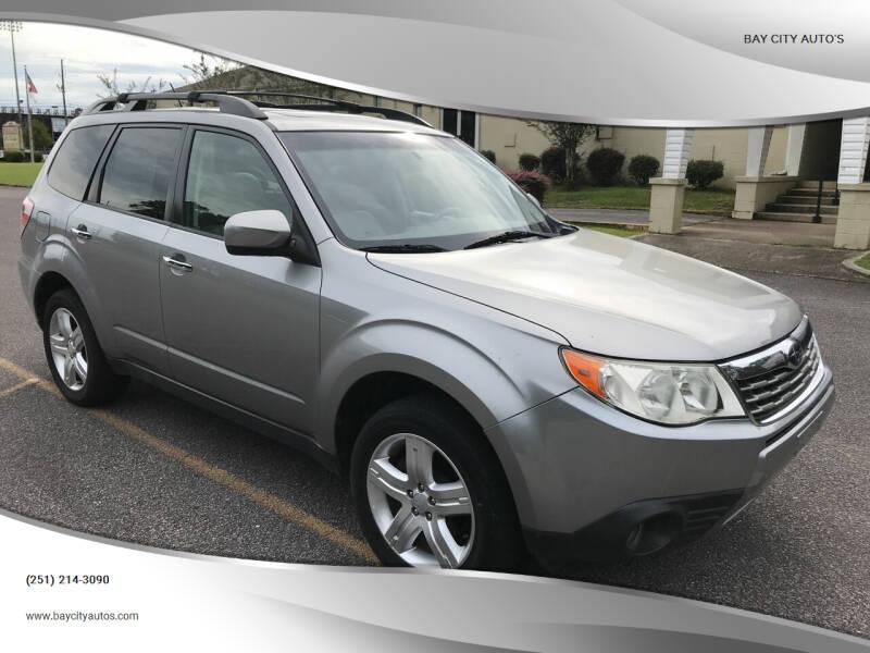 2009 Subaru Forester for sale at Bay City Auto's in Mobile AL
