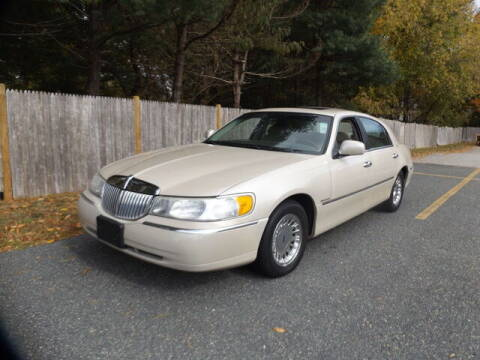 1999 Lincoln Town Car for sale at Wayland Automotive in Wayland MA