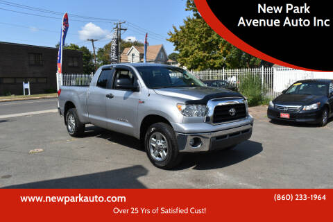 2008 Toyota Tundra for sale at New Park Avenue Auto Inc in Hartford CT
