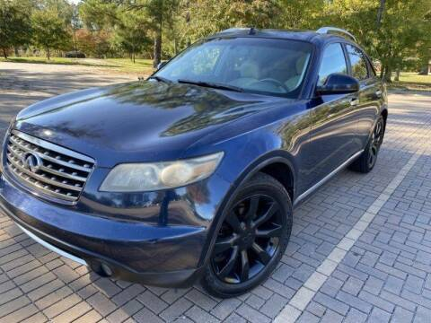2006 Infiniti FX35 for sale at JES Auto Sales LLC in Fairburn GA