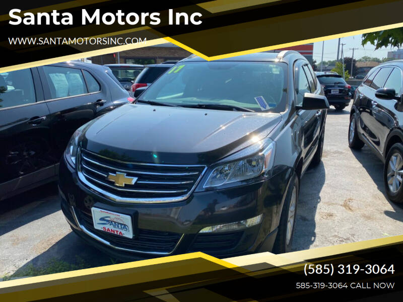2017 Chevrolet Traverse for sale at Santa Motors Inc in Rochester NY