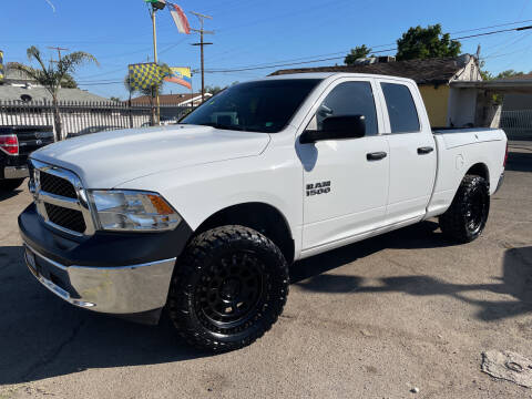 2016 RAM Ram Pickup 1500 for sale at JR'S AUTO SALES in Pacoima CA