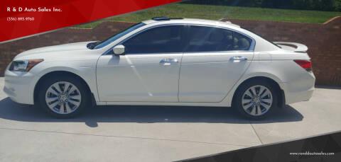 2011 Honda Accord for sale at R & D Auto Sales Inc. in Lexington NC
