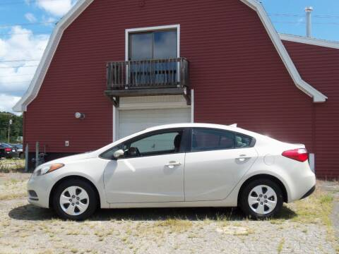 2014 Kia Forte for sale at Red Barn Motors, Inc. in Ludlow MA