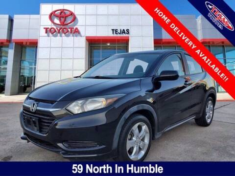 2016 Honda HR-V for sale at TEJAS TOYOTA in Humble TX