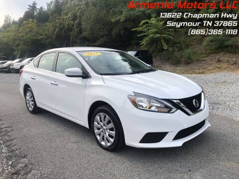 2017 Nissan Sentra for sale at Armenia Motors in Seymour TN