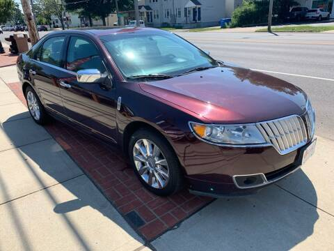 2011 Lincoln MKZ for sale at Viscuso Motors in Hamden CT