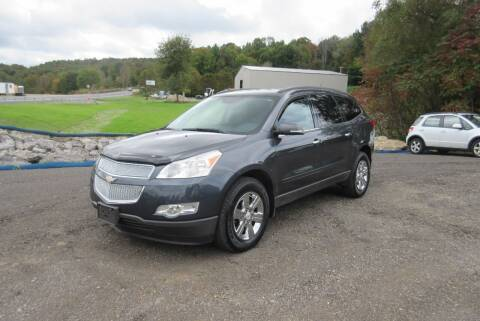 2012 Chevrolet Traverse for sale at Clearwater Motor Car in Jamestown NY