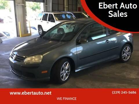 2007 Volkswagen Rabbit for sale at Ebert Auto Sales in Valdosta GA