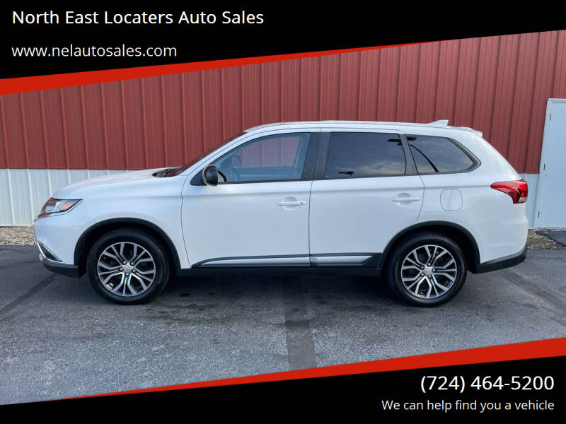 2017 Mitsubishi Outlander for sale at North East Locaters Auto Sales in Indiana PA