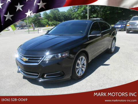 2017 Chevrolet Impala for sale at Mark Motors Inc in Gray KY